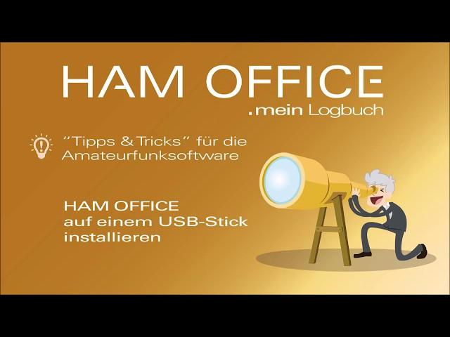 Youtube-Startbild zu HAM OFFICE Tipps & Tricks: Installation auf einem USB-Datenträger