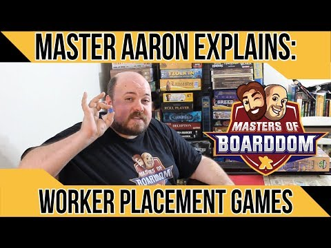 Worker Placement - Masters of Boarddom
