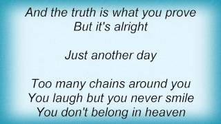 Dio - Just Another Day Lyrics