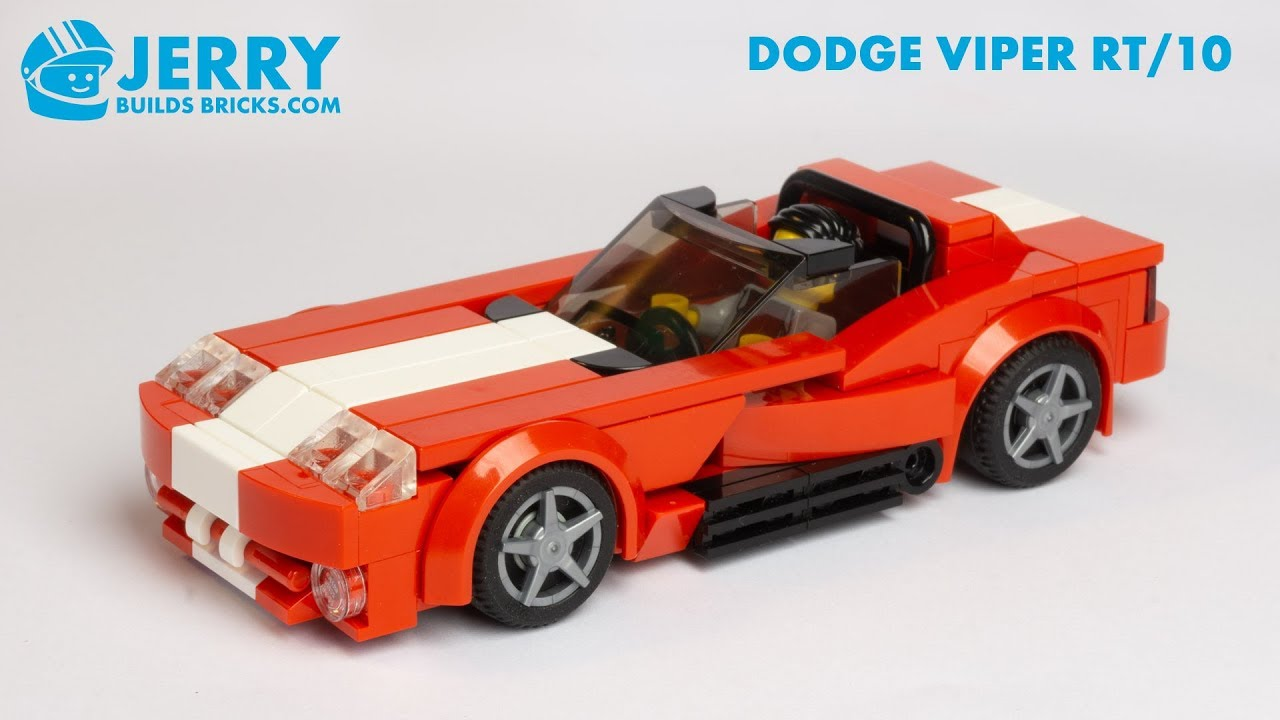 LEGO Dodge Viper RT/10 instructions (MOC #111)