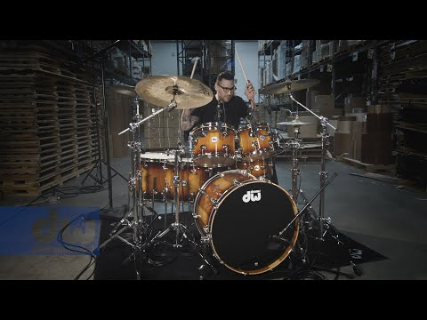 Gil Sharone - Straight Up DW Pure Almond Drums