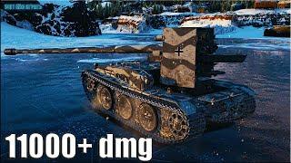 Grille 15 ОСНОВНОЙ КАЛИБР 🌟 11000+ dmg World of Tanks