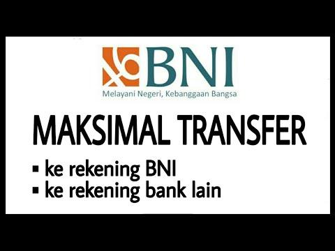 Limit Transfer Bank BNI