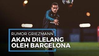 Performa Dianggap Tak Memuaskan, Antoine Griezmann Terancam Dijual Barcelona