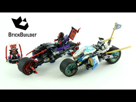 Vidéo LEGO Ninjago 70639 : La Course de rues en motos