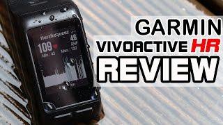 Garmin Vivoactive HR im Test / Review [deutsch]
