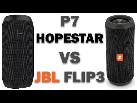 Разбираем Hopestar P7 - сравниваем с JBL Flip 3 и конечно Bass Test
