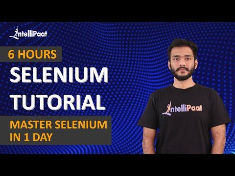 Selenium Training | Selenium Tutorial | Selenium Course | Intellipaat ...
