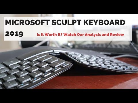 Microsoft Sculpt Keyboard 2019 Review- Best Ergonomic Keyboard?