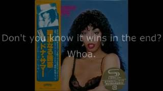 "Donna Summer - Love Will Always Find You LYRICS SHM ""Bad Girls"" 1979"