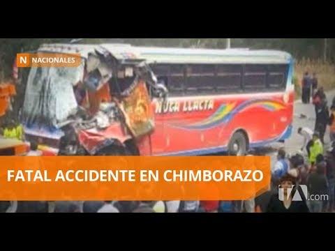 Accidente de tránsito deja un muerto y cinco heridos - Teleamazonas