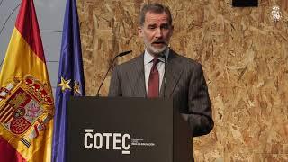 Palabras de S.M. el Rey en la presentación del Anuario 2021 de Informe Cotec
