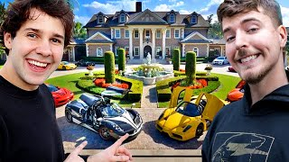 10 Richest YouTubers of 2020 (MrBeast, David Dobrik, PewDiePie, Dude Perfect)