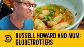 A Three Course Insect Feast | Russell Howard and Mum: GlobeTrotters