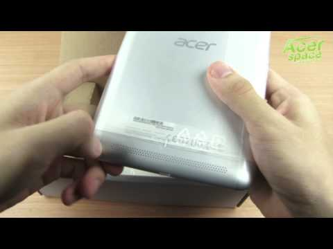 แกะกล่อง Acer Iconia Tab-7 A1-713