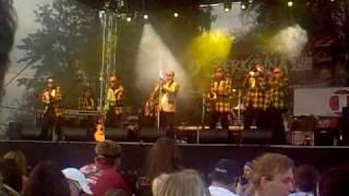 Marcel Woodman & band - nástup, Rock around the clock, Musil (Štěrkovna 09)