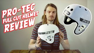 Pro-tec Full Cut certified Helmet- unboxing and review.
