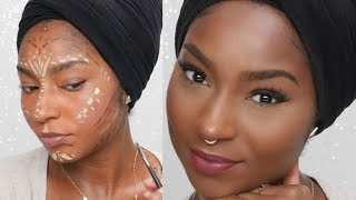 African Tribal Color Correct Mask! | JaMexicanBeauty | iamLindaElaine