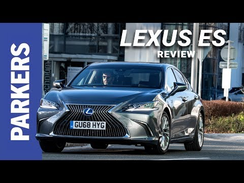 Lexus ES Saloon Review Video