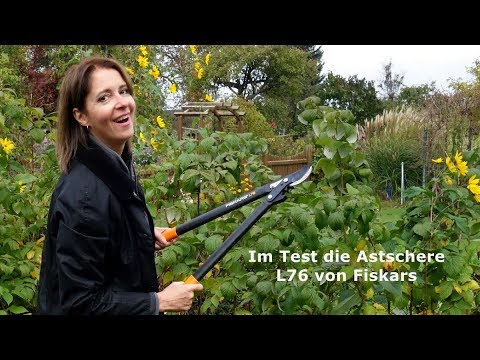 Test Fiskars PowerGear Bypass-Getriebeastschere L76