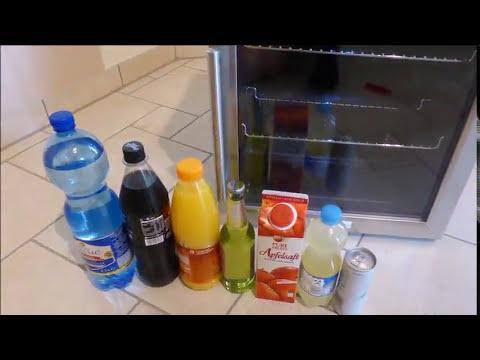 Klarstein Beersafe L Minibar Getränkekühlschrank 50 Liter Minikühlschrank