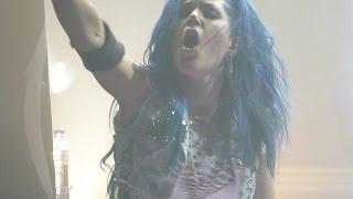 Arch Enemy - As the pages Burn + Dead eyes see no Future @ 013 Tilburg (NL) 2014-dec-04