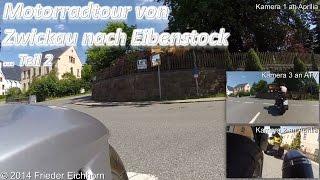 preview picture of video 'Motorradtour von Zwickau nach Eibenstock über Reichenbach, Teil 2 ...'