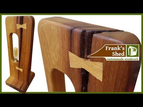 Designer Tischlampe aus Mahagoni bauen | DIY | 🔥Franks Shed