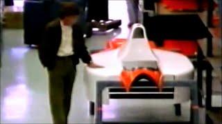 偶然に撮られていたマクラーレンに別れを告げるセナ Ayrton Senna To Say Goodbye To McLaren