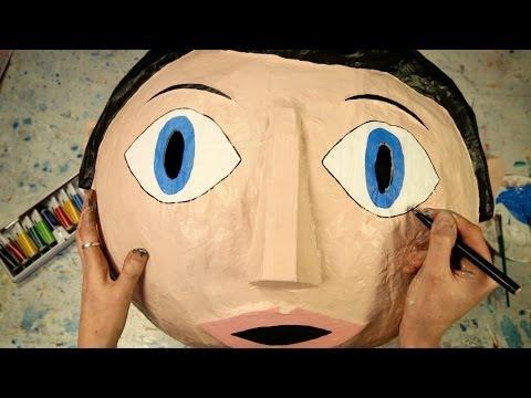 Best otbeliwajuschtschaja die Maske der Person
