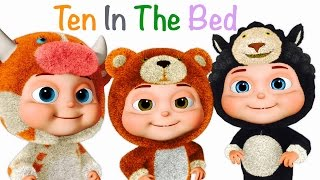 Ten In The Bed | Many More Nursery Rhymes | Fancy Babies | Collection