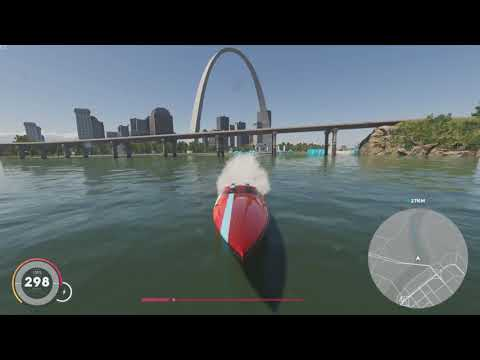 The Crew 2 – Mississippi River Trip – Great Lakes to Gulf of Mexico / Chicago to New Orleans