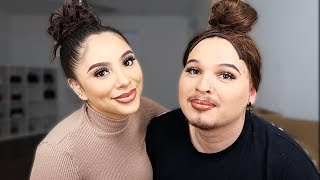 MY GIRLFRIEND TURNS ME INTO HER!! *HILARIOUS*