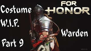 WIP'ing   For Honor, The Warden part9 cosplay tutorial, Armor Cloak Tabard