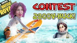 🔴 FORTNITE LV.47 | VINCI 10€ PS4 XBOXONE PAYSAFE | CONTEST 2800-VBUCKS |
