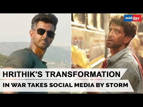 Hrithik Roshan's transformation from Super 30 to War takes social media by storm