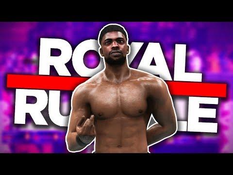 BRANDON COLLINS ENTERS THE ROYAL RUMBLE!! | WWE 2K19 MyCareer Universe Ep #23