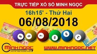 Xổ số Minh Ngọc™ Thứ 2 Ngày 06-08-2018 - Kênh chính thức từ Minhngoc.net.vn
