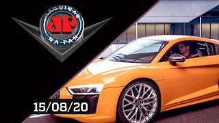 Aceleramos o Audi R8 Coupé – o preferido de Tony Stark, o Homem de Ferro | MÁQUINAS NA PAN