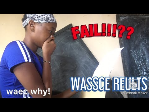 OPENING MY WASSCE RESULTS | live reaction