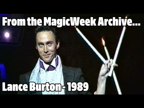 Lance Burton - Magician - The Royal Variety Performance - November 1989