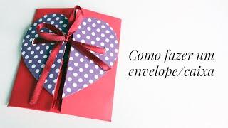 Envelope/Caixa - Cartão Criativo Para Namorado(a)