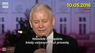 Jarosław Kaczyński jest 'coraz bliżej prawdy'