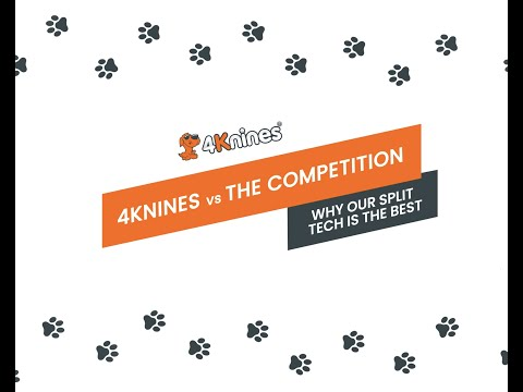 Waterproof Split Rear Seat Cover For Dogs - 4KninesTechnology Comparison vs the Competition