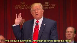 The Speech that made Trump President