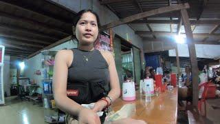 柬埔寨偏远小城,夜晚上街碰到个妩媚的老板娘,竟然会中文(柬埔寨旅行3)
