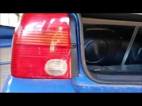 VW Lupo Rückscheinwerfer ausbauen