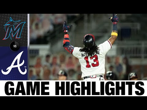 Braves plate 29 runs in rout of Marlins | Marlins-Braves Game Highlights 9/9/20