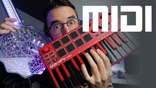 What is MIDI and MIDI controllers?