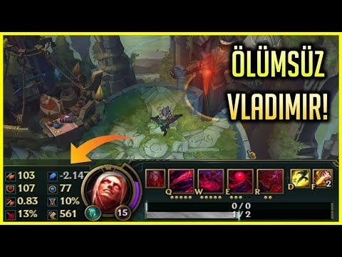 SONSUZ AP - 0 CAN VLADİMİR! | ALAMETE TEK ATIYOR | LEAGUE OF LEGENDS